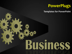 PowerPoint Template - Industrial background